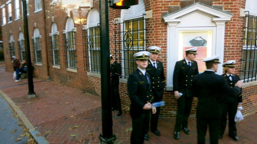 Annapolis MD: Midshipmen, Ahoy!