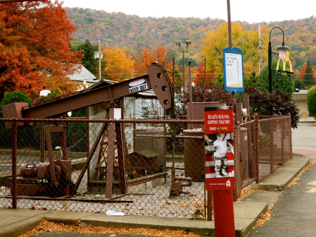 Oldest Producing Oil Well in Bradford PA