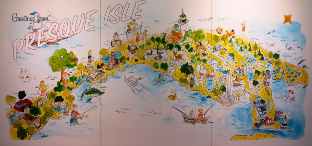 Presque Isle Map