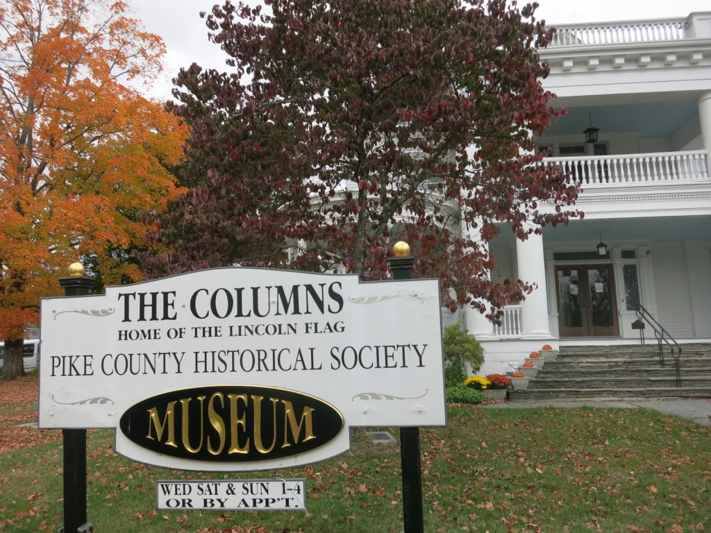 The Columns, Pike County Historical Society
