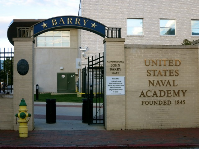 US Naval Academy Barry Gate