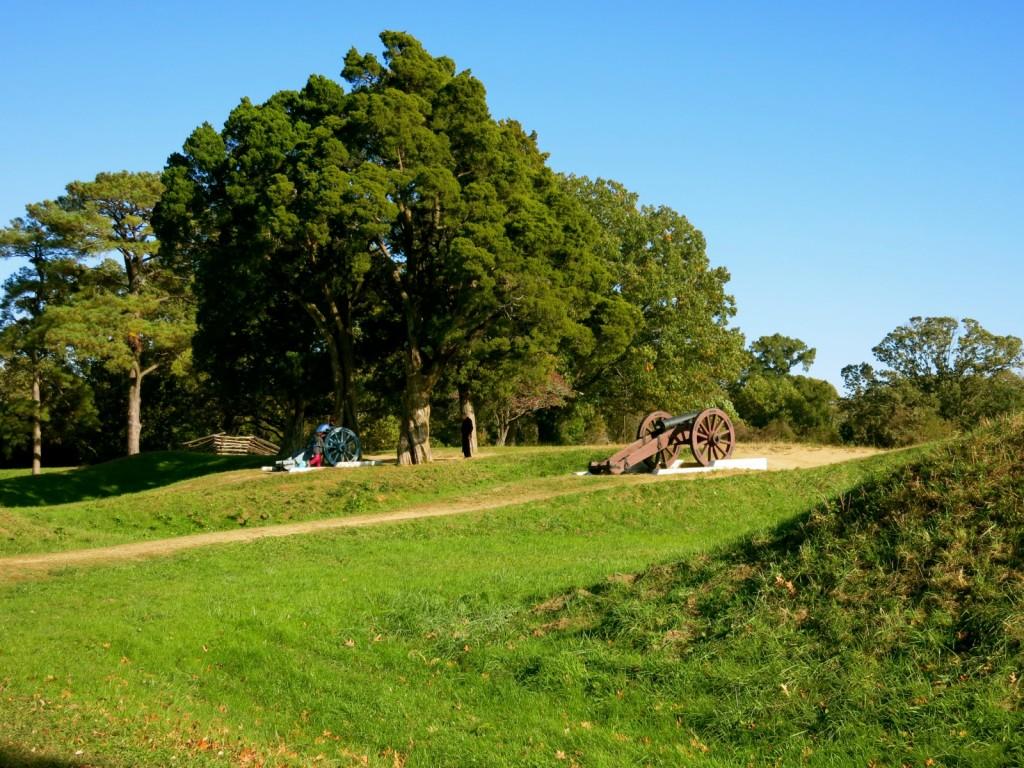 Yorktown Battlefield Trench