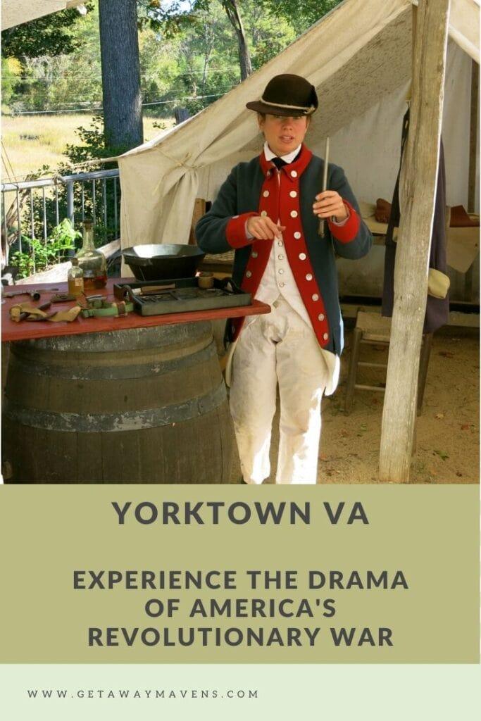 Yorktown VA Pin