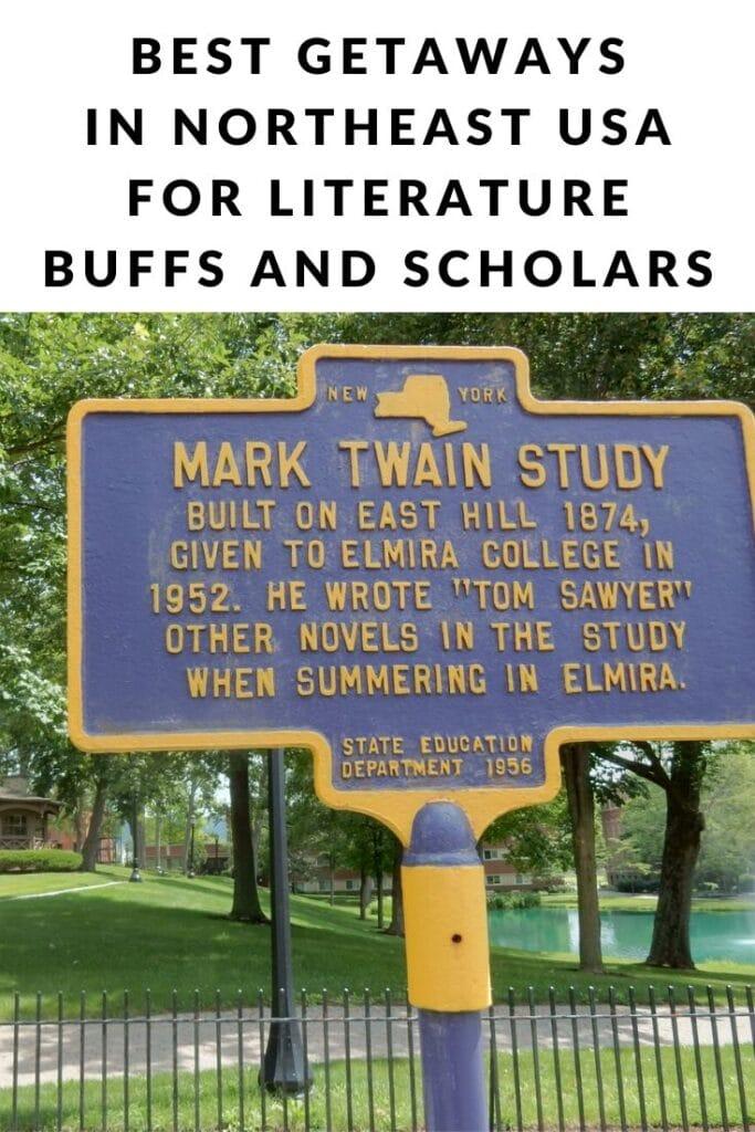Getaways for Literary Scholars Pin