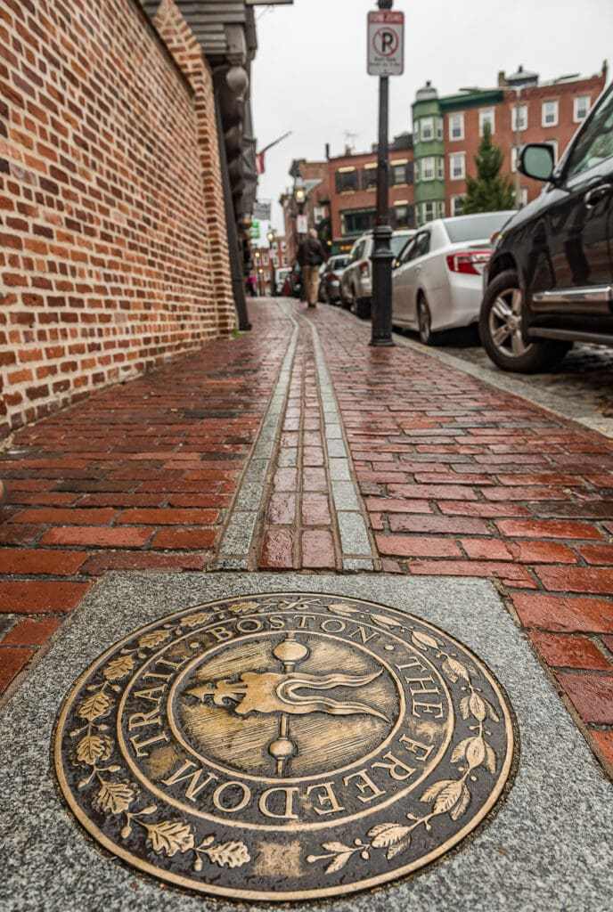 Freedom Trail in Boston Massachusetts