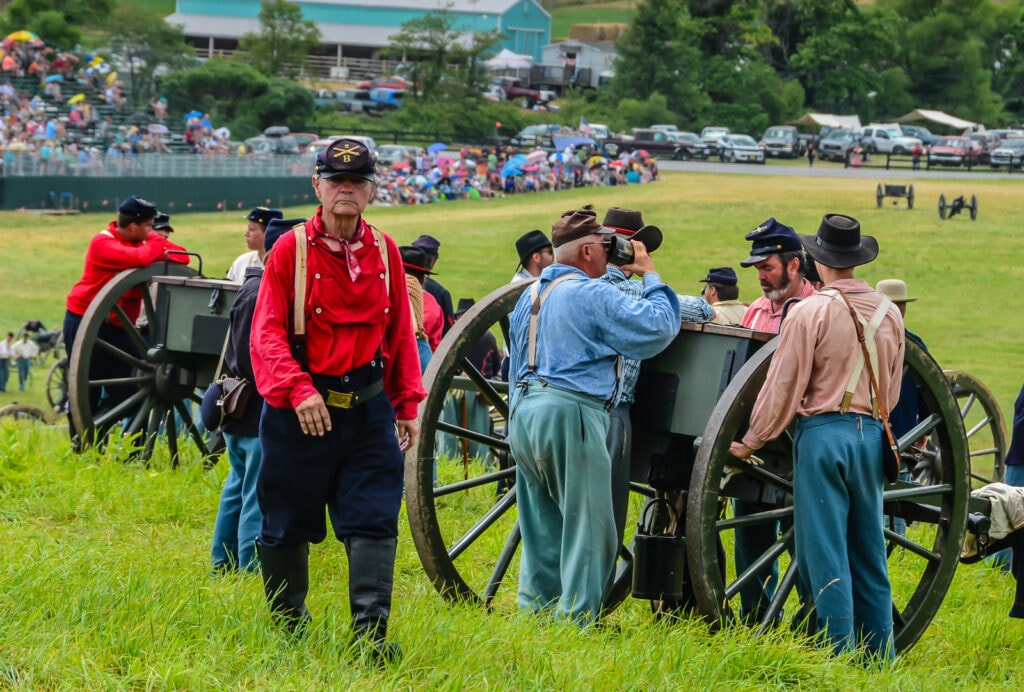 Gettysburg Battles reenactment tops our list of historical sites in the Northeast.
