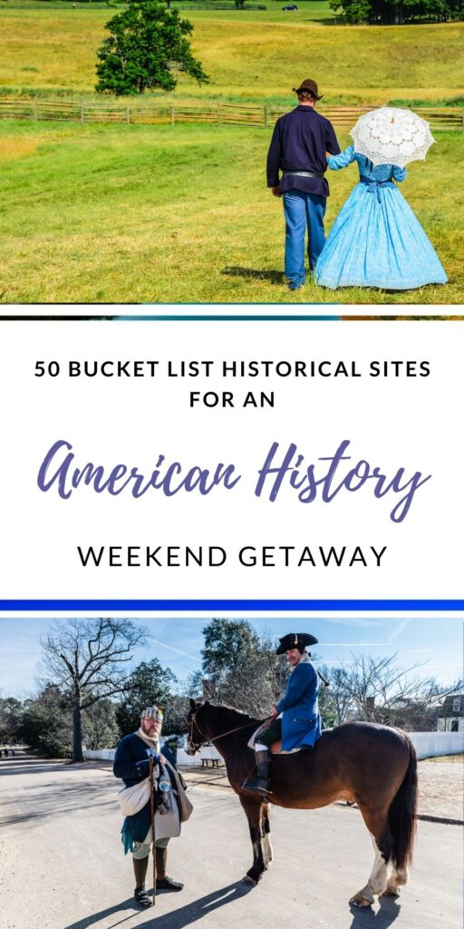 Historical Sites Pinterest Pin