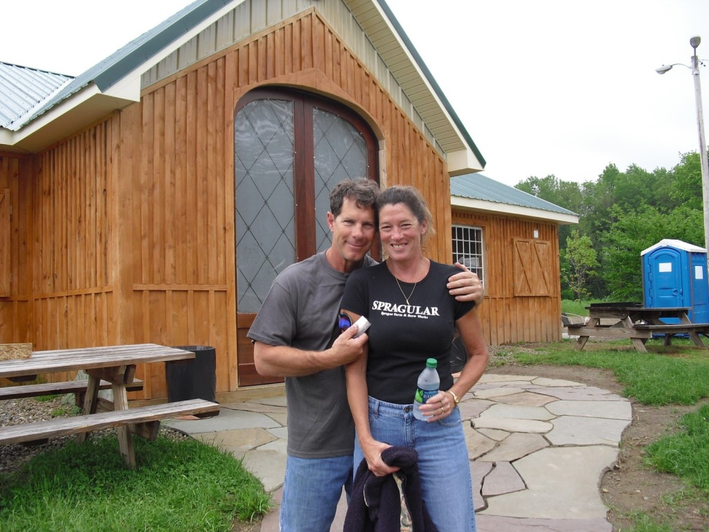 Minnie and Brian Sprague of Sprague Brew Works