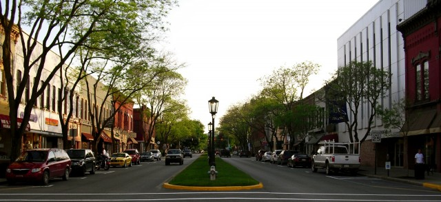 Wellsboro PA downtown