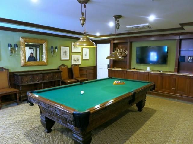Billiards Room Three Stories at Saybrook Point Inn