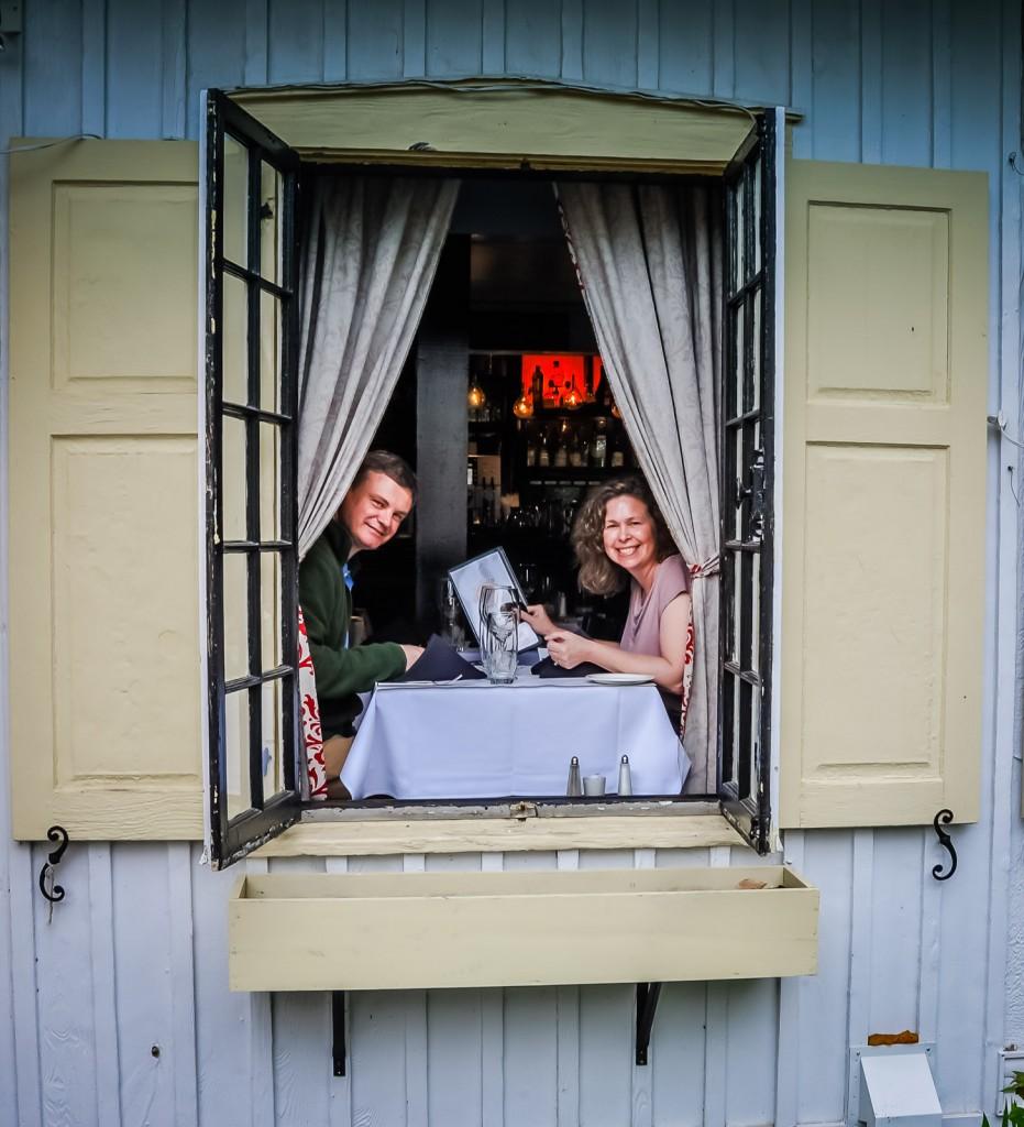 Mont Tremblant - Restaurant Window