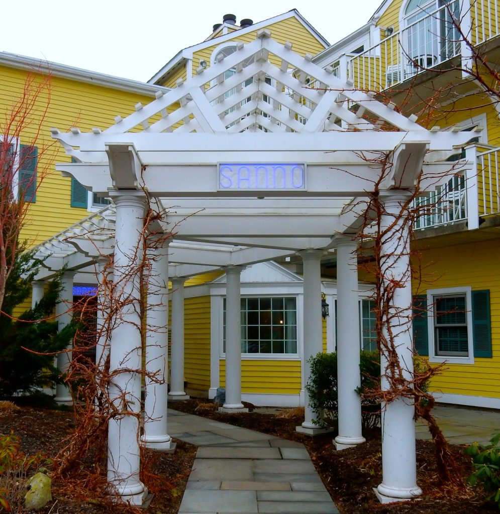 Sanno Spa Entrance, Saybrook Point Inn and Spa, CT