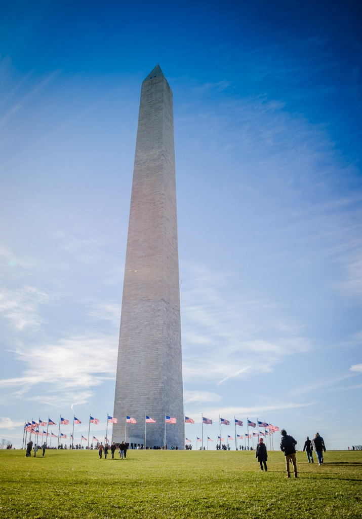 Seeing Washington Monument on a Washington DC in a Day itinerary