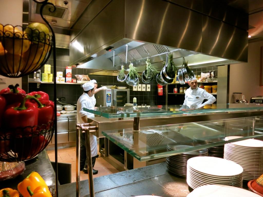 Beresheet Hotel Open Kitchen
