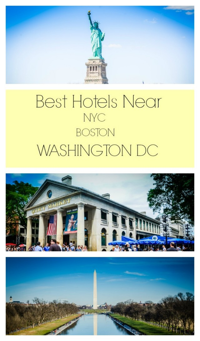Best Hotels Near NYC Boston Washington DC #hotel via @GetawayMvavens