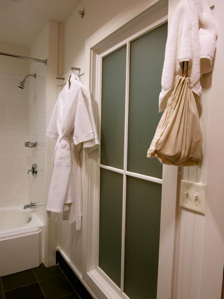 Porches Inn Bathroom