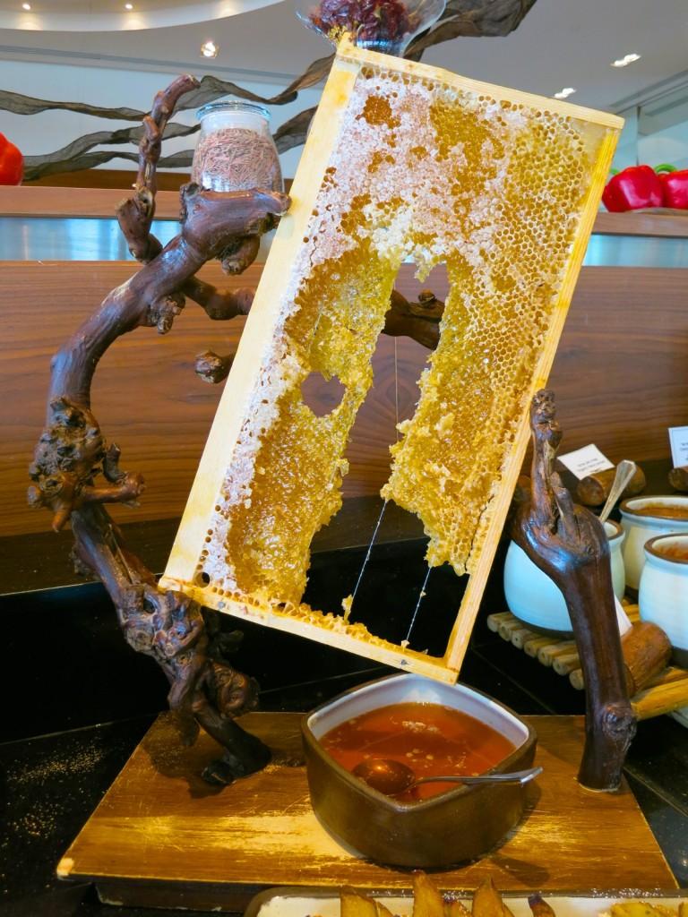 Freshest Honey in the morning at Beresheet Hotel