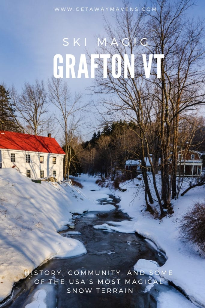 Visitors to Grafton, VT find history, community ties, andsome ofthe USA's most magical snow terrain. #vermont #wintergetaways