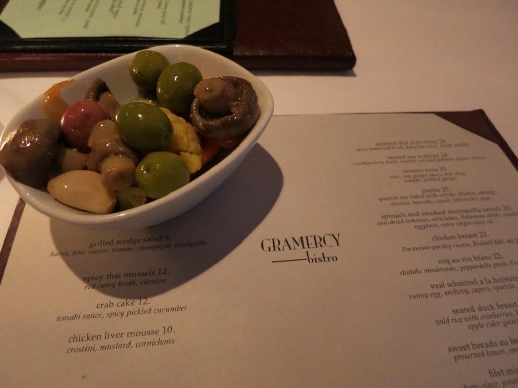 Gramercy Bistor Appetizer