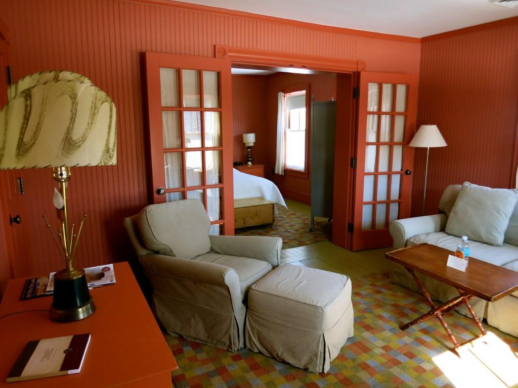 Guest Suite with Pocket Doors