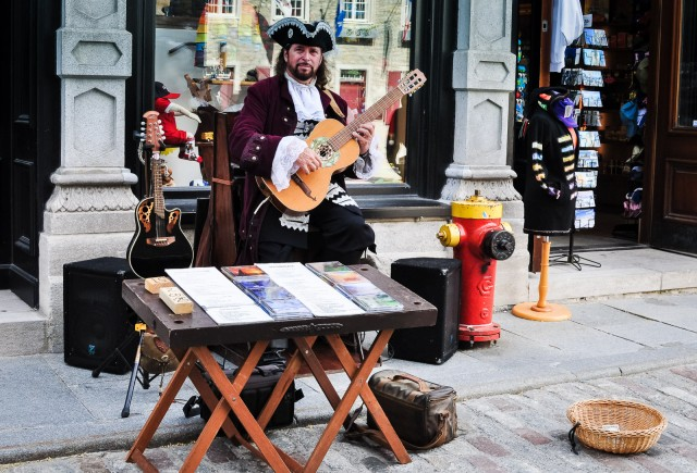 Historic Musician - Quebec City