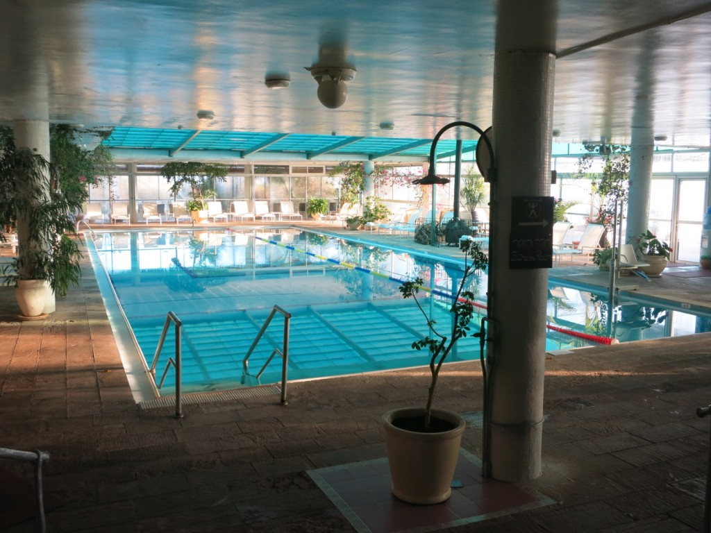 Indoor Pool at Mitzpe Hayamim Rosh Pinna Israel