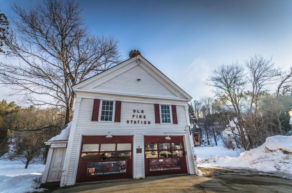 Old Fire Station - My Mind's Design - Grafton VT