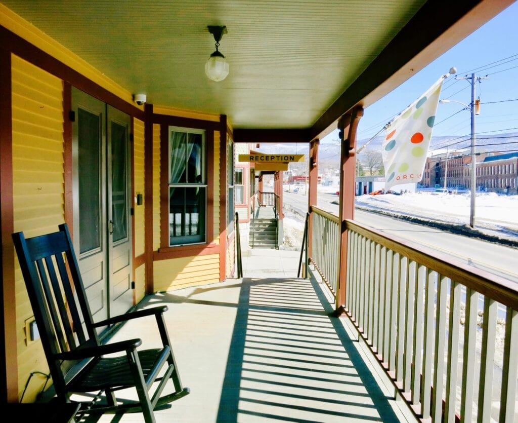 Porches Inn North Adams MA