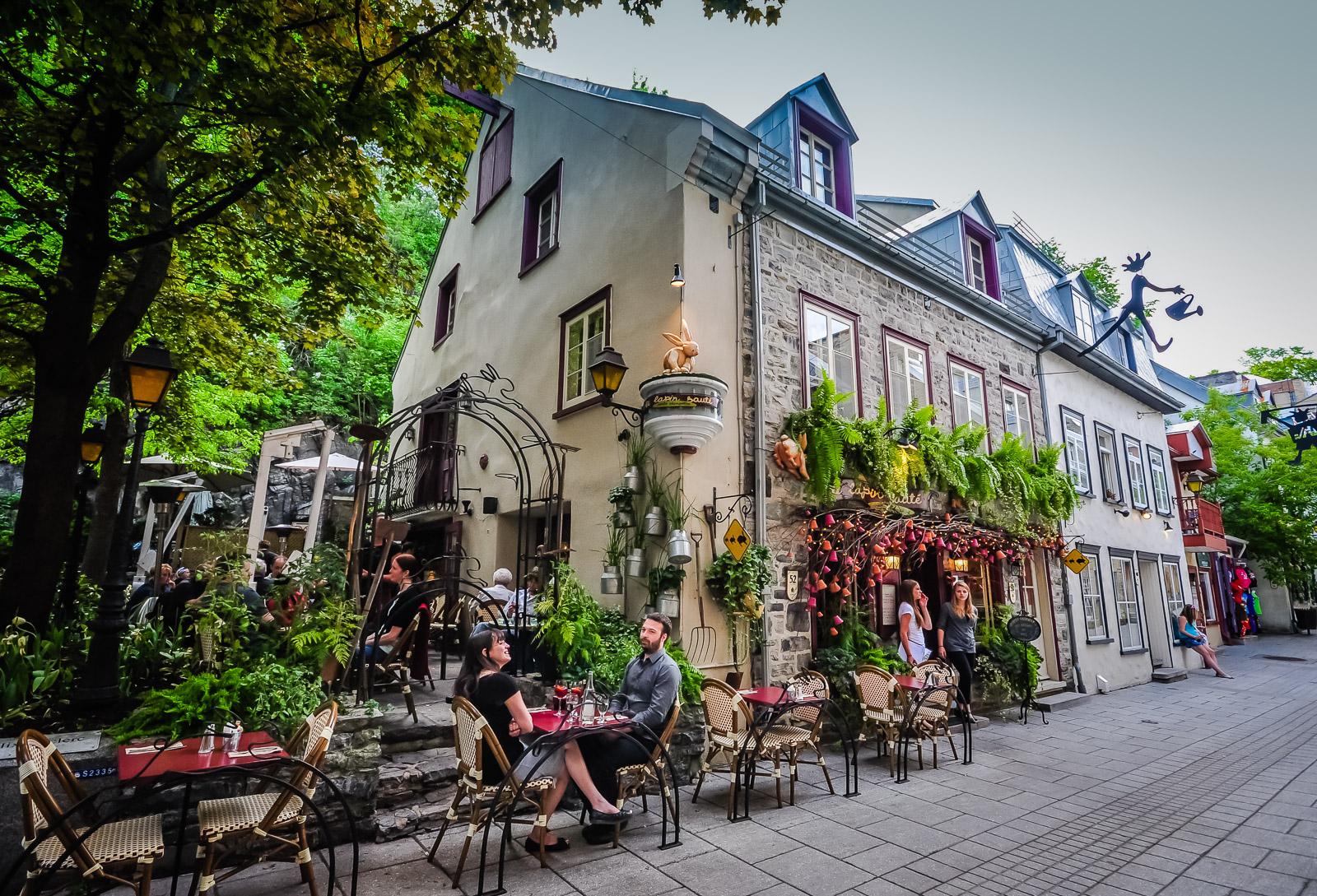 Old Quebec Restaurants