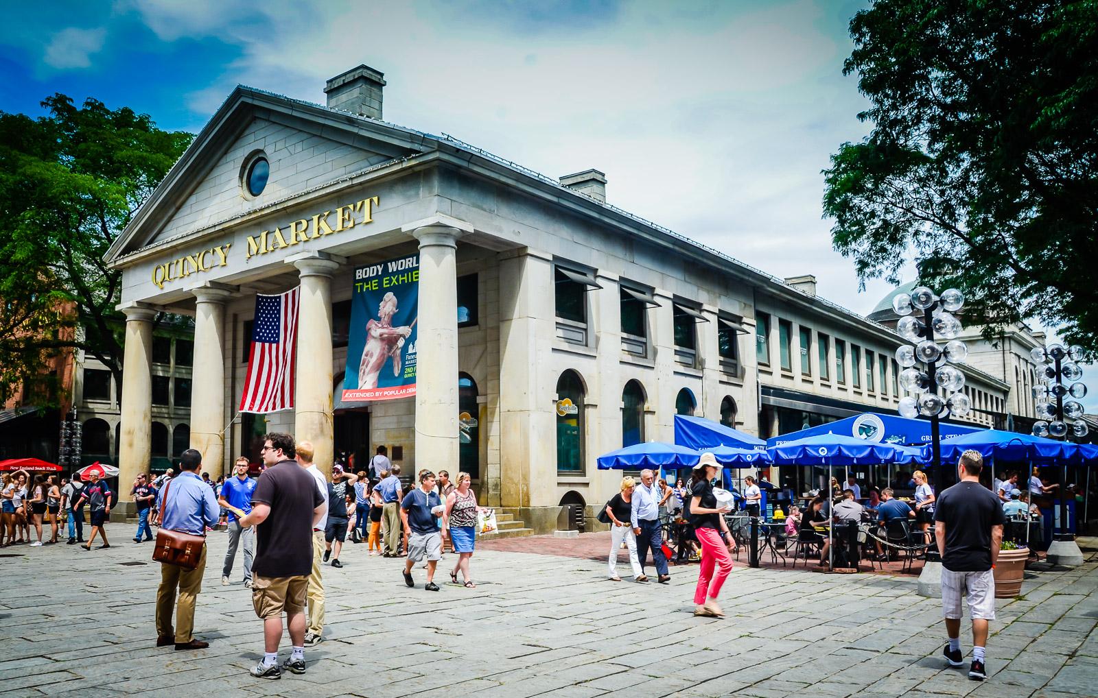 Quincy Market - Boston