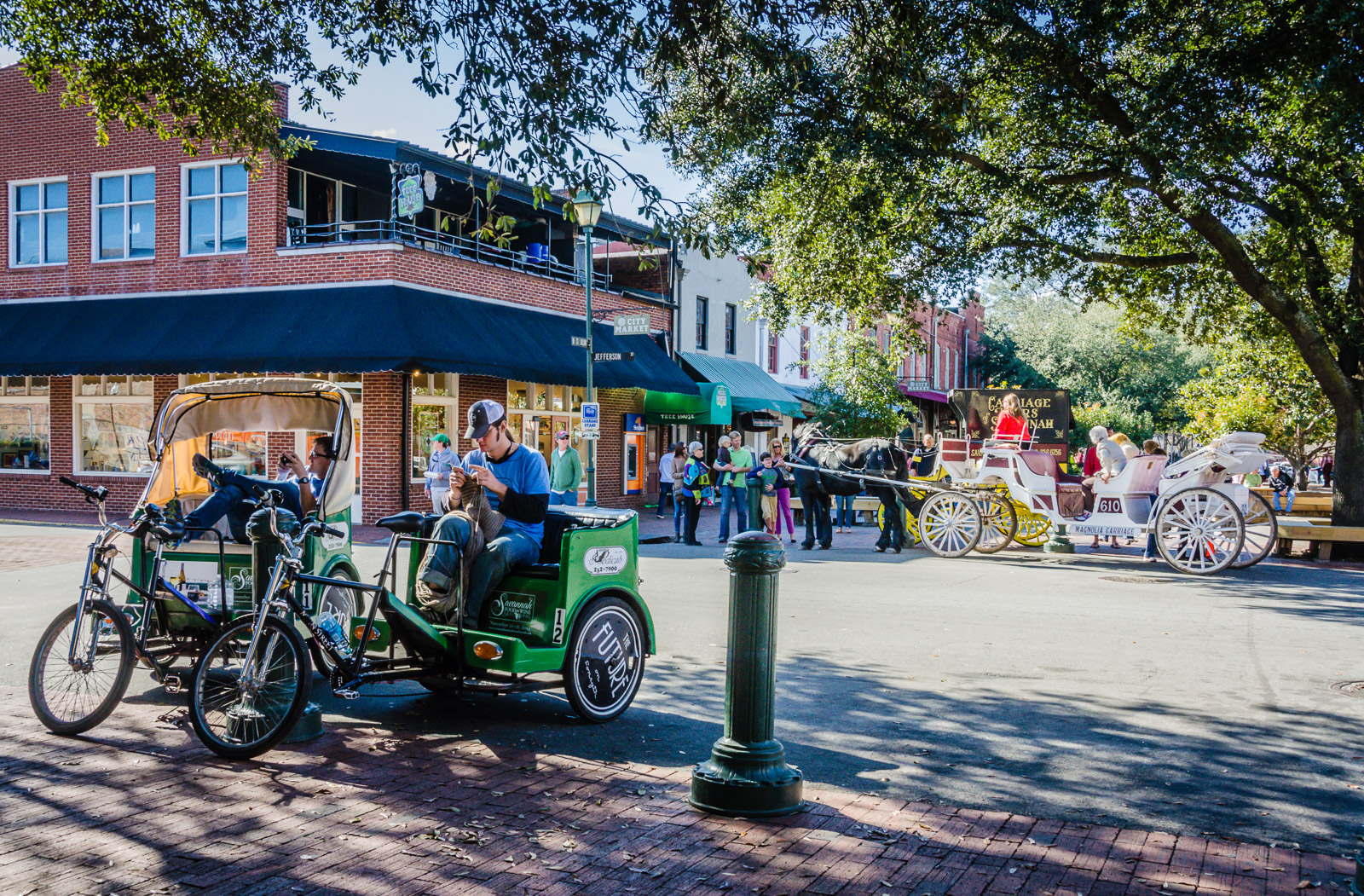 Savannah GA In a Day Getaway Mavens – Tourist Map Of Savannah Ga
