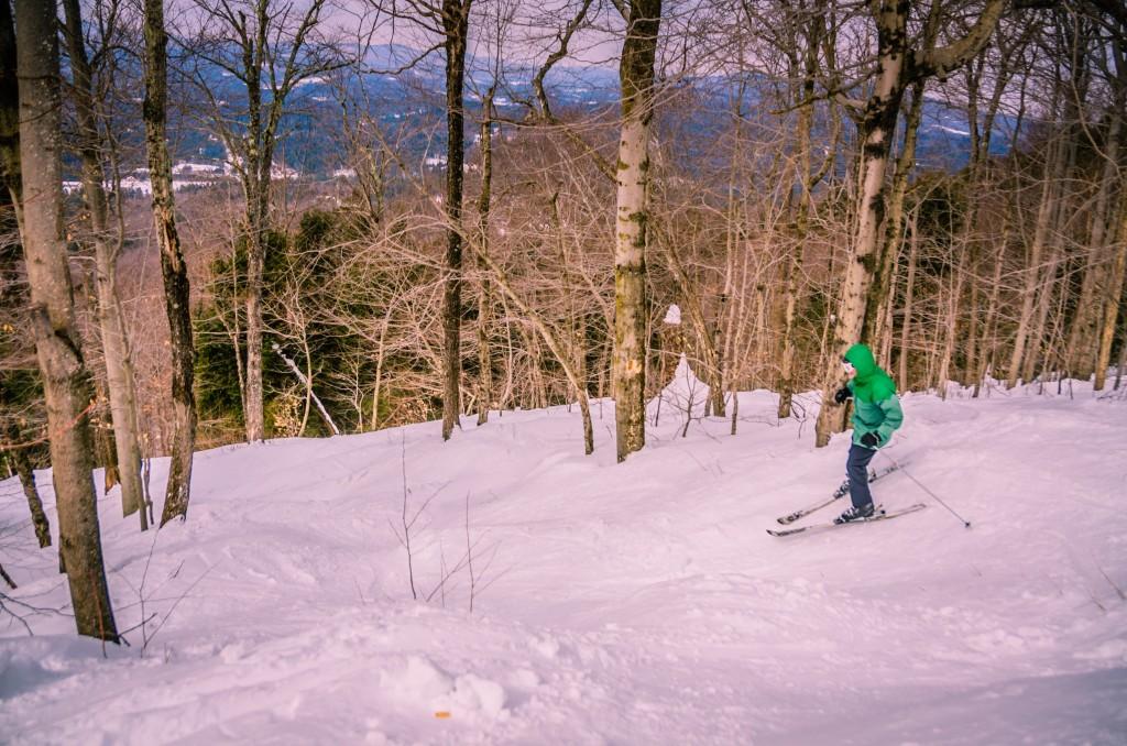 Ski Glades - Magic Mountain - Vermont