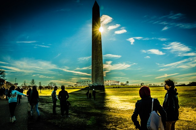 See the Washington Monument touring Washington DC In a Day - walking tour, dining, and where to stay near Georgetown and the National Mall.