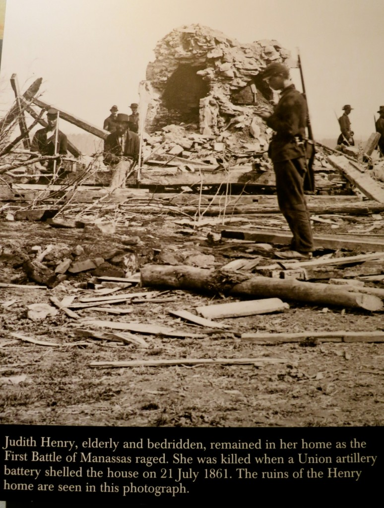 Aftermath of Battle on Henry Hill, Manassas Battlefield VA - Photo from National Museum of the Marine Corps