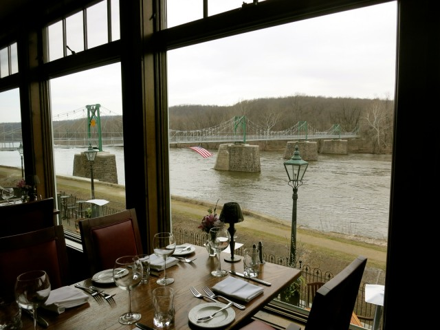 Black Bass Inn river view