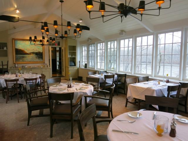 Breakfast room, Golden Pheasant Inn PA