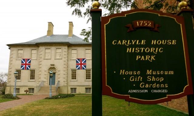 Carlyle House House Museum, Alexandria VA