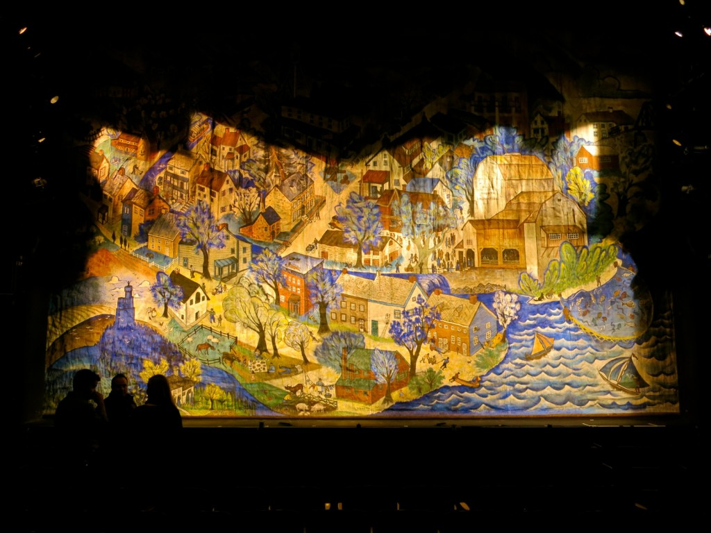 Charles Childs Fire Curtain, Bucks County Playhouse