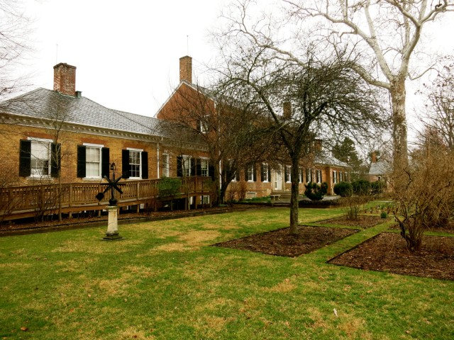 Chatham Manor, outside of Fredericksburg VA