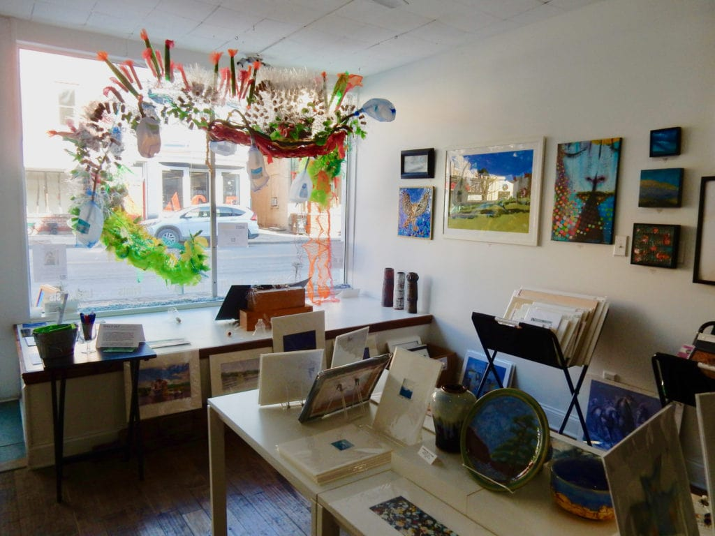 Interior Emerge Gallery Saugerties NY