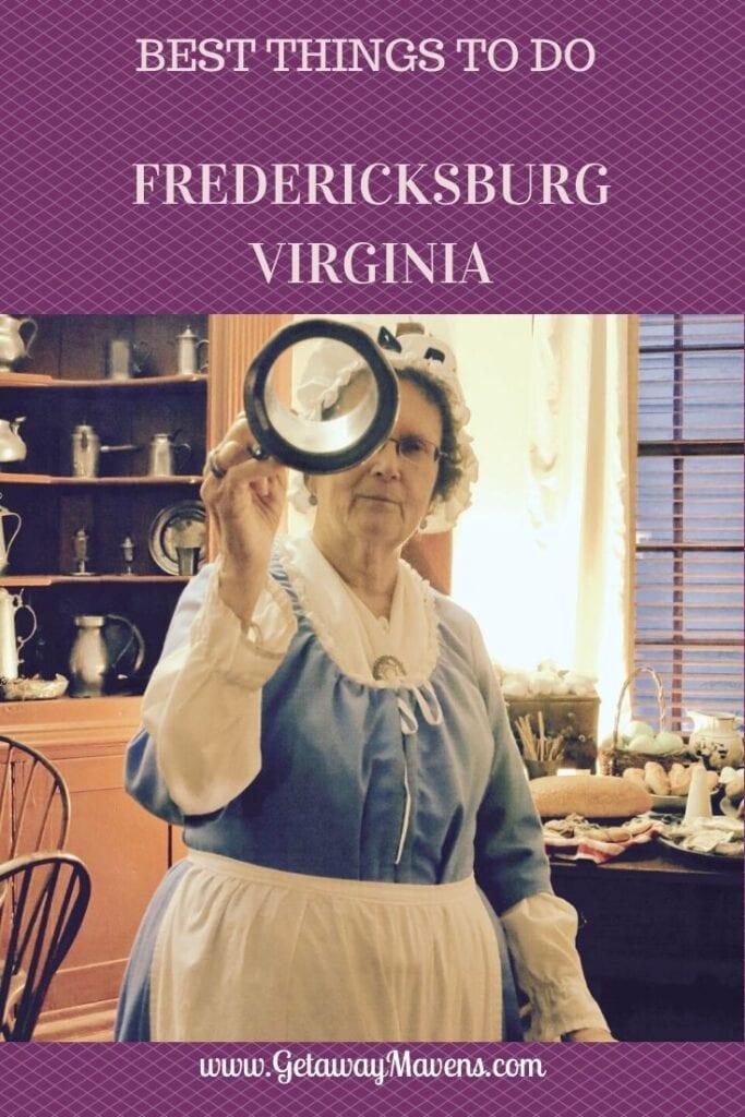 Fredericksburg VA Pin