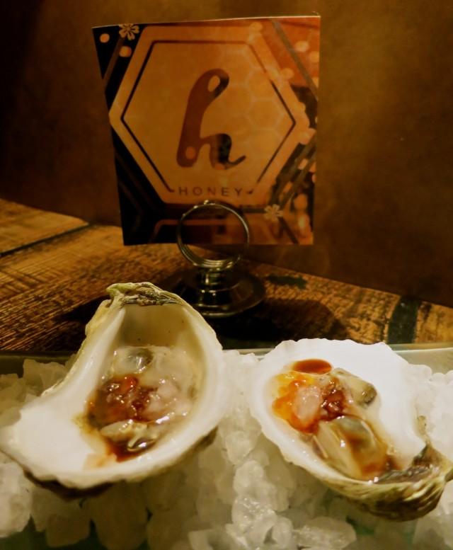 Guinness Stout Oysters, Honey Restaurant