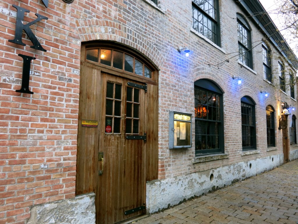 Helsinki Restaurant exterior Hudson NY