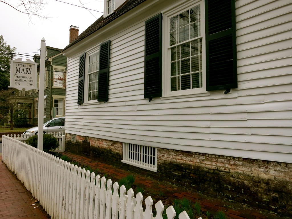 Home of Mary Washington (mother of George), Fredericksburg VA