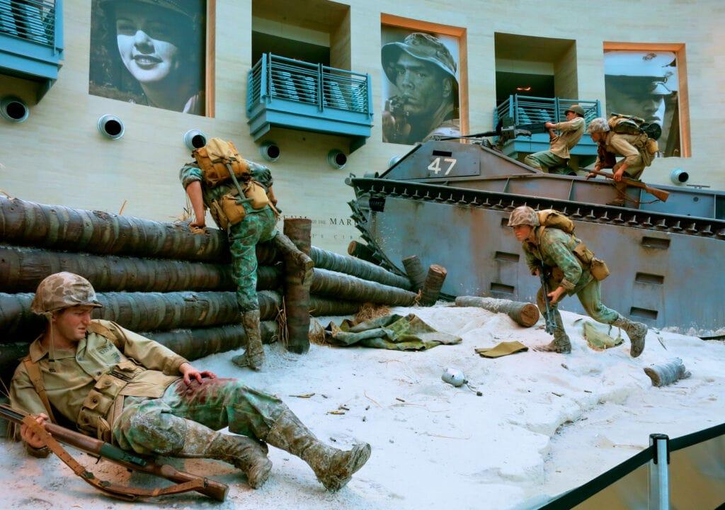Diorama National Museum of Marine Corps VA