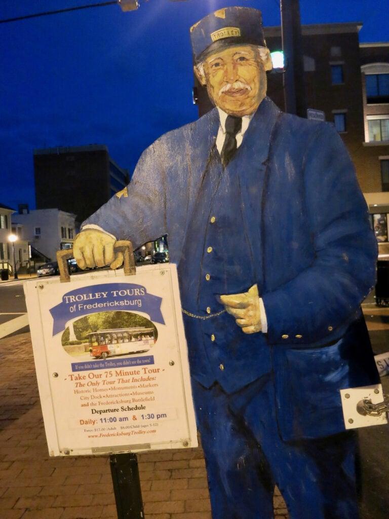 Trolly Tours of Fredericksburg VA