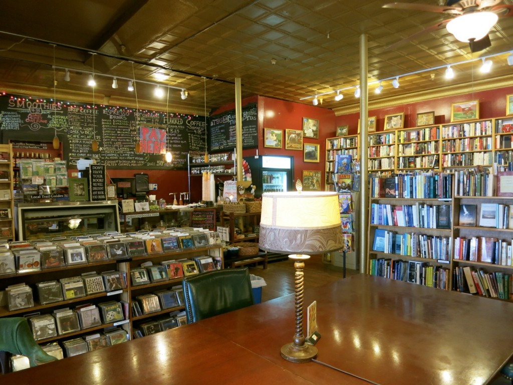 Interior Inquiring Minds Bookstore, Saugerties NY