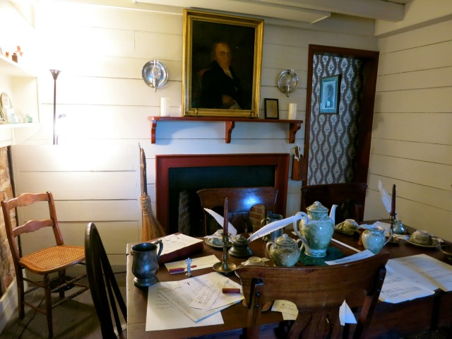 Interior of Weems Botts Museum, Dumfries VA