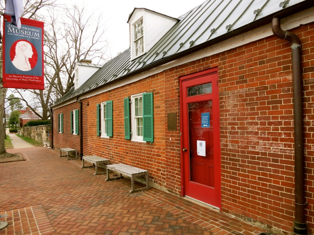 James Monroe Museum, Fredericksburg VA