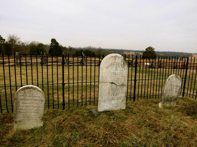 Judith Henry Gravesite, Manassas Battlefield